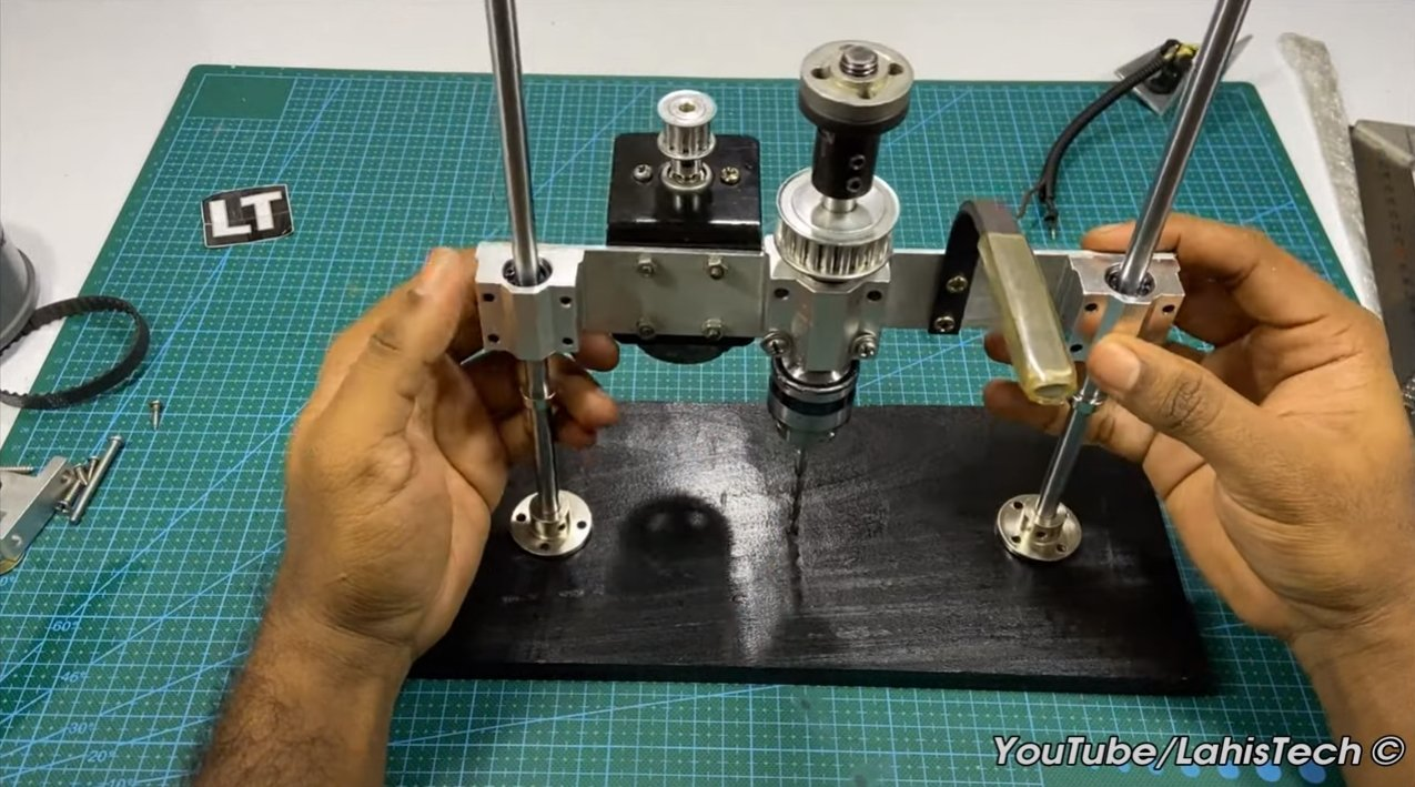 Mini-drilling machine from the 775 motor
