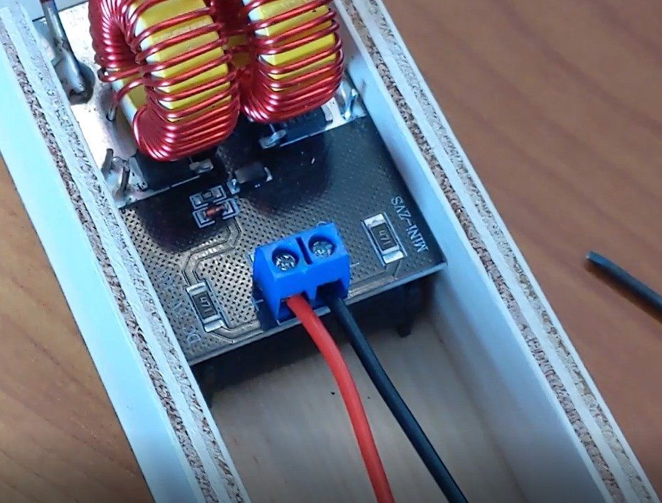 Assembling an induction heater for $ 15