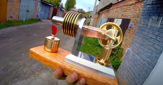 How to make a Stirling engine to generate electricity - easy!
