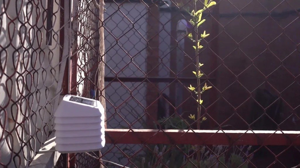 Autonomous station for weather control and watering plants