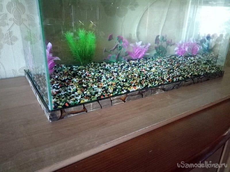 Aquarium with filling 2