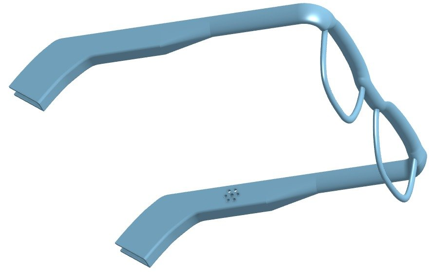 Audio glasses with built-in Bluetooth