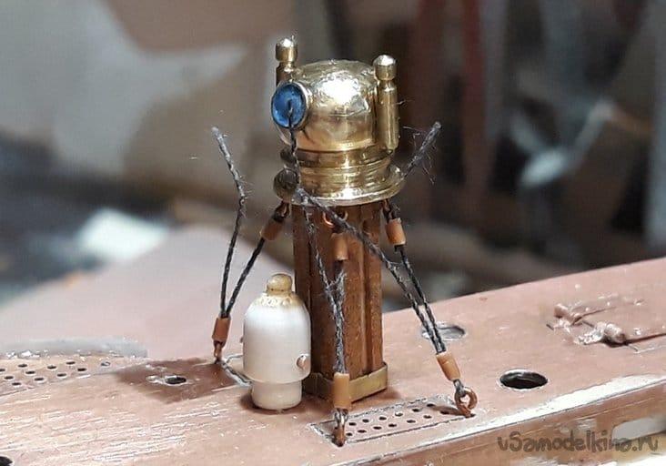 Model of the submarine