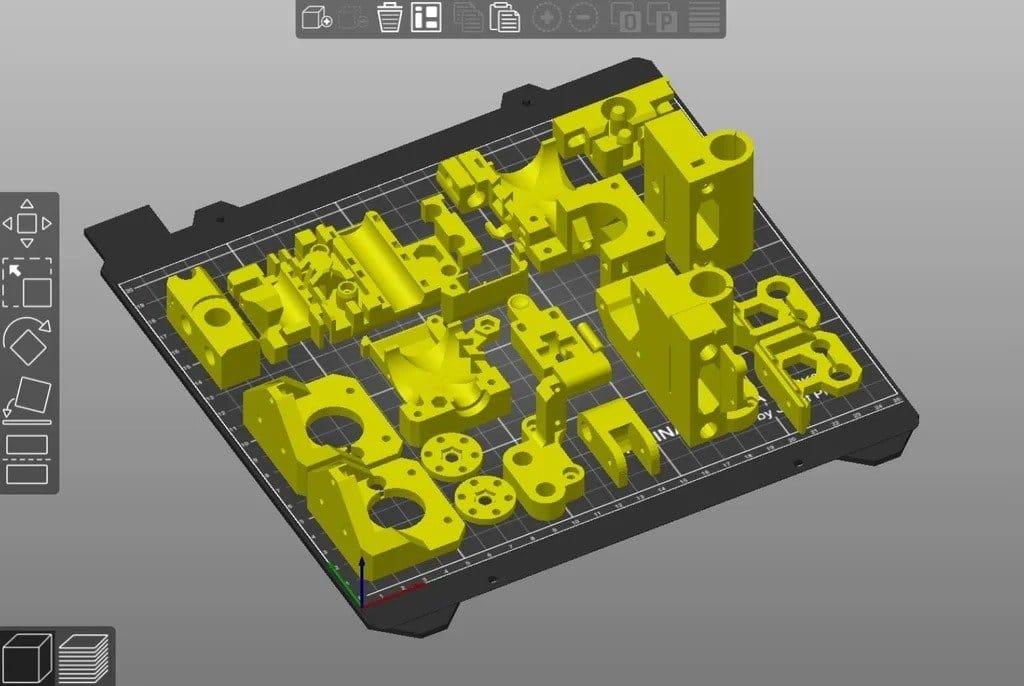 Assembling a replica of the Prusa i3 Mk2S 3D printer