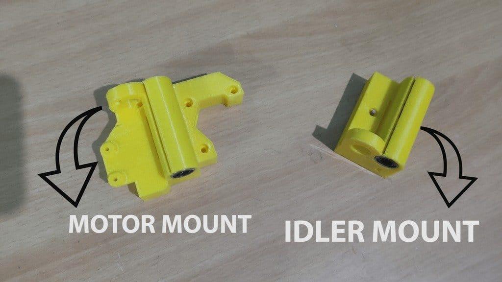 Putting together a replica of the Prusa i3 Mk2S 3D printer