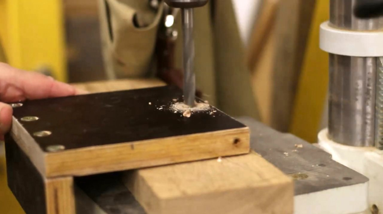 How to make a quick release platform for a locksmith vice