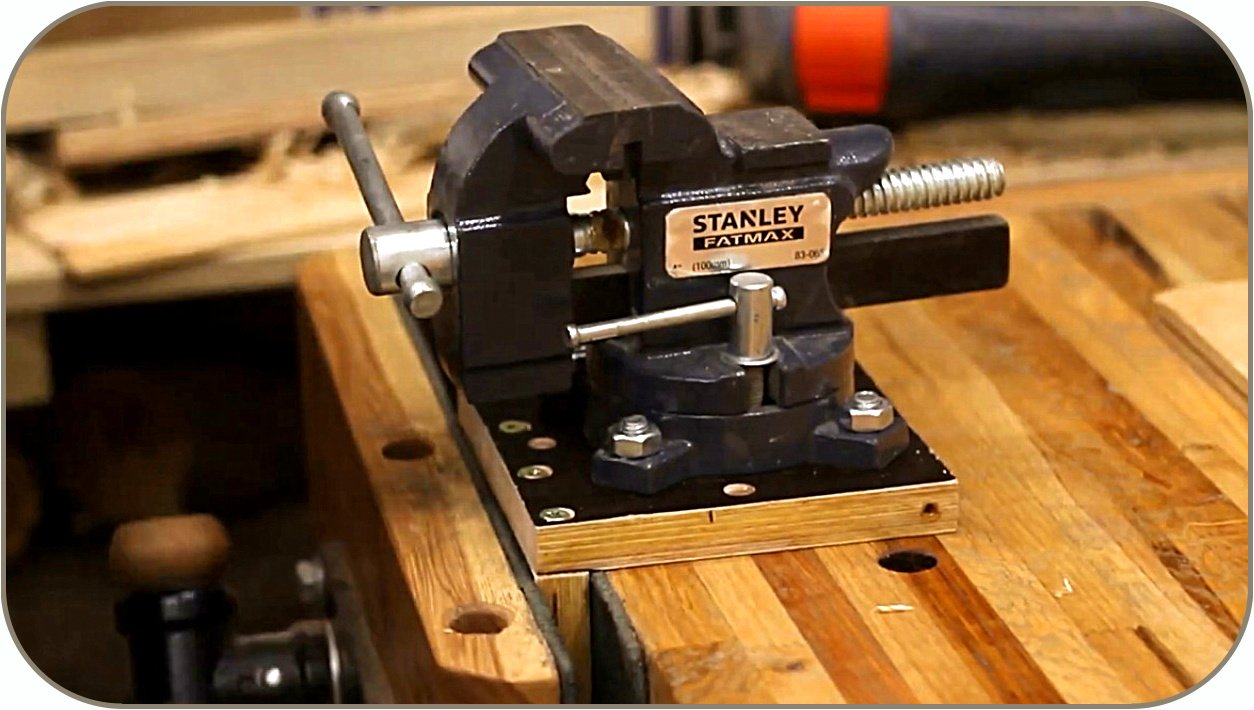 How to make a quick-release platform for a locksmith vice