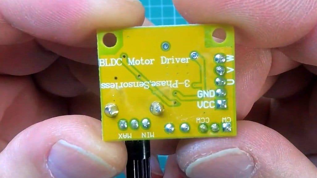 How to make a miniature orbital (disc) sander.