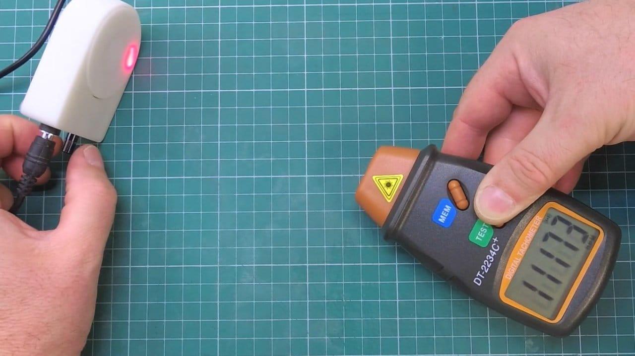 How to make a miniature orbital (disk) grinding machine.