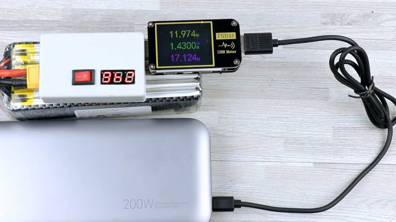 How to make a large capacity powerbank with fast charging function QC4.0 3.0