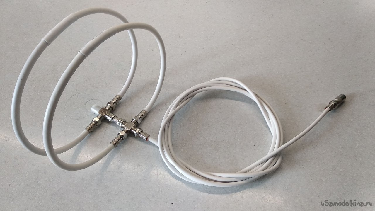 A variant of a simple antenna for receiving digital TV