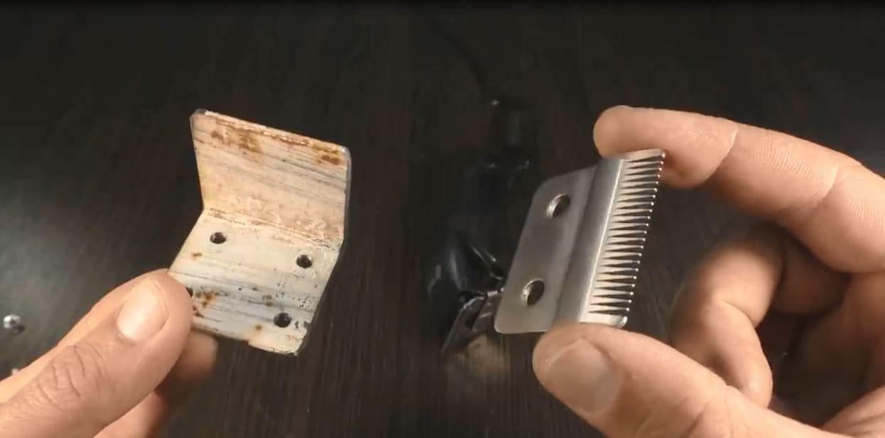 A jigsaw based on a hair clipper