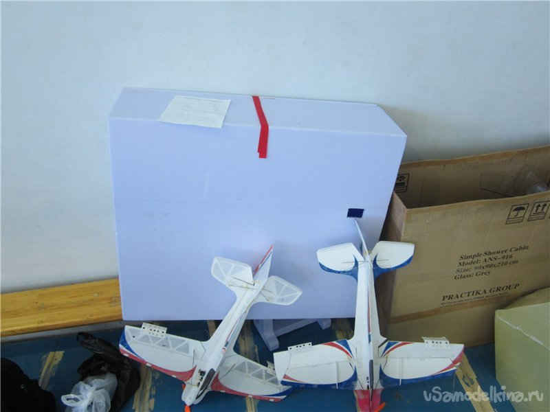 Package for aircraft