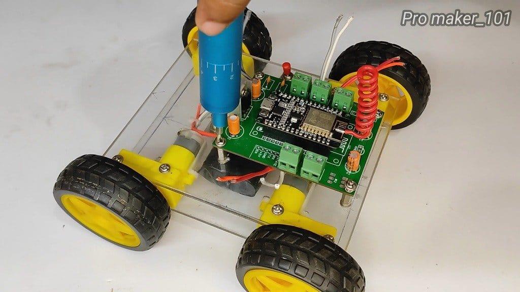 Авто с управлением по WIFI