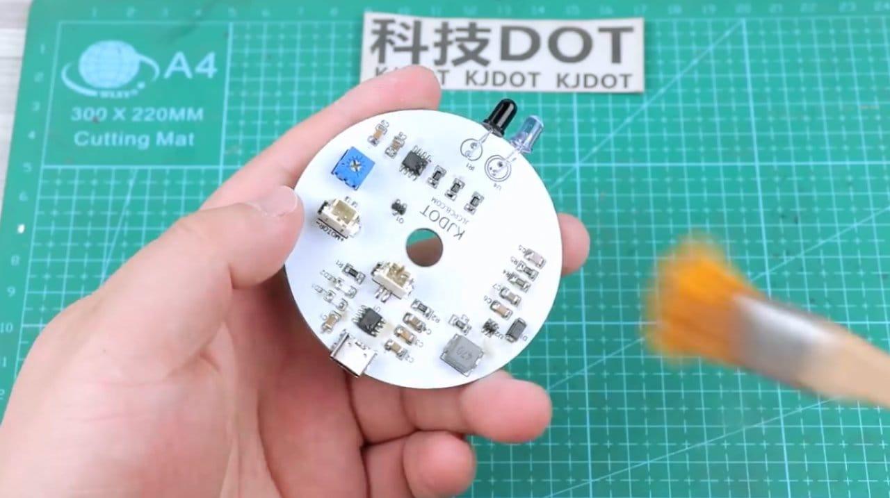 How to make a non-contact dispenser for liquids (antiseptics, soaps)
