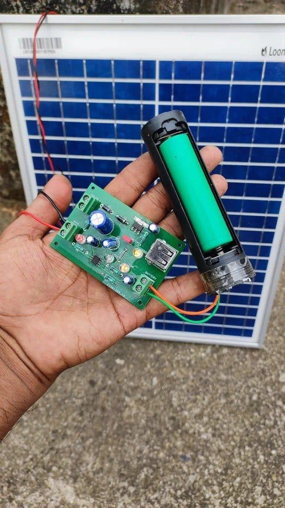 Самодельное зарядное устройство от солнечной батареи