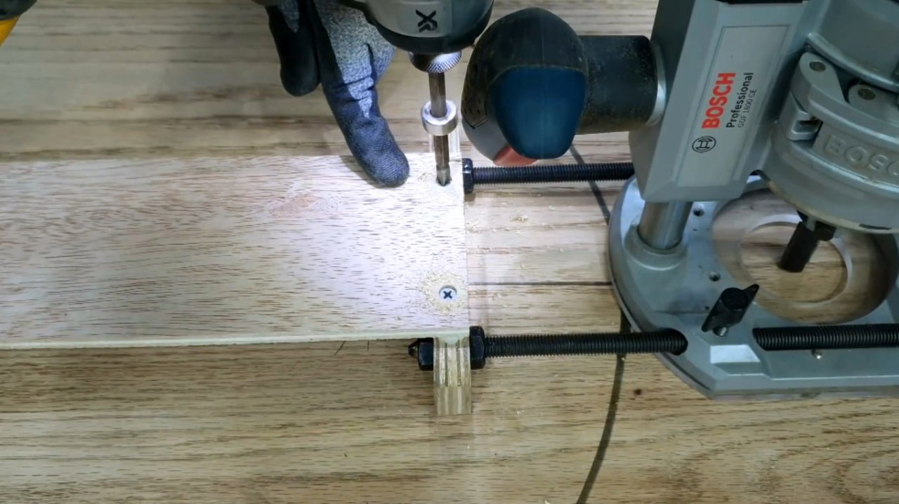 How to make a tool for cutting ovals with a router