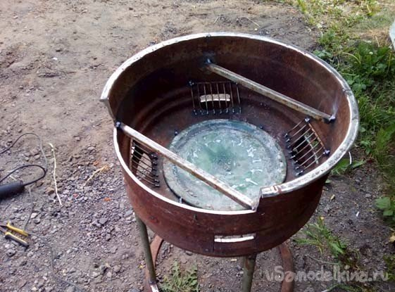 Brazier from disk