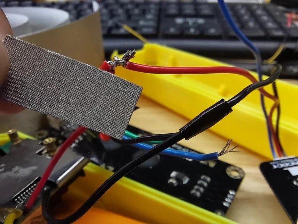 Assembling a laser tape measure