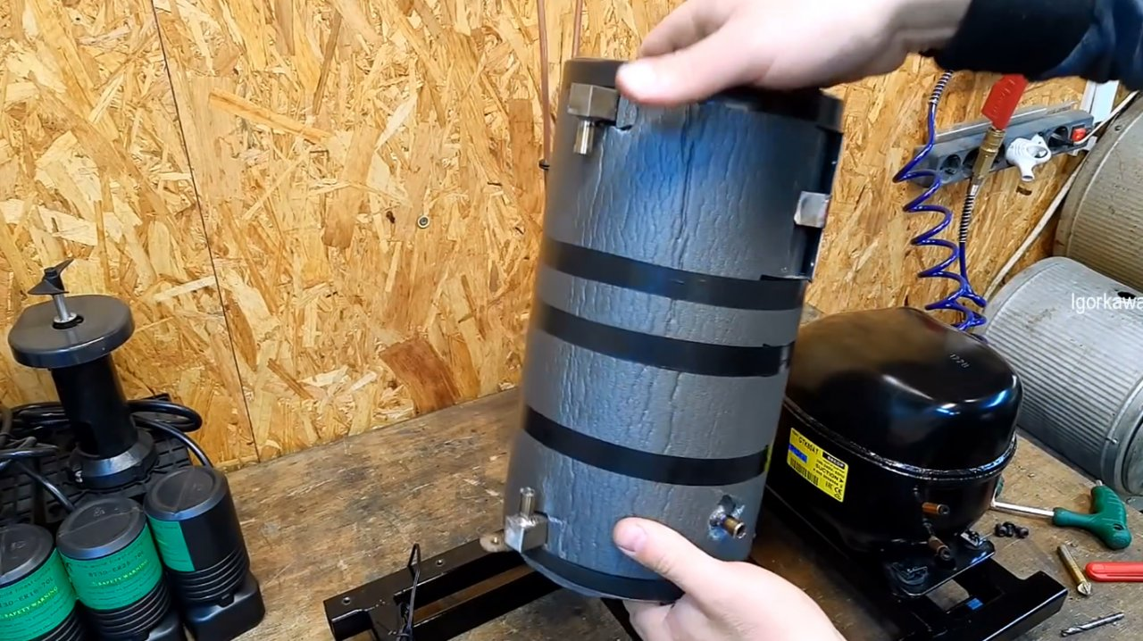 How to make a chiller (refrigeration unit) for CNC machine tools and not only