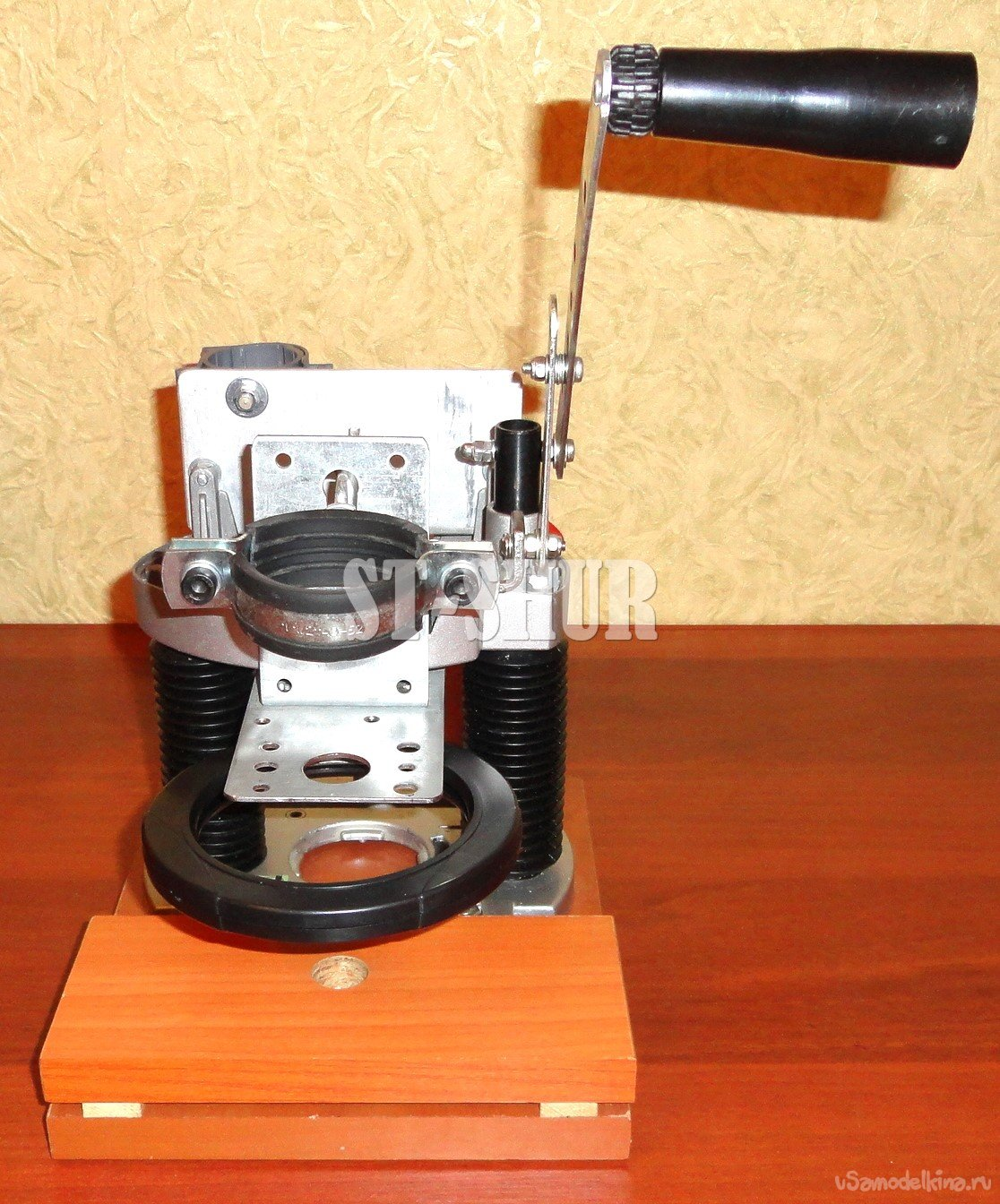 Further modernization of the drill stand (continuation of the topic)