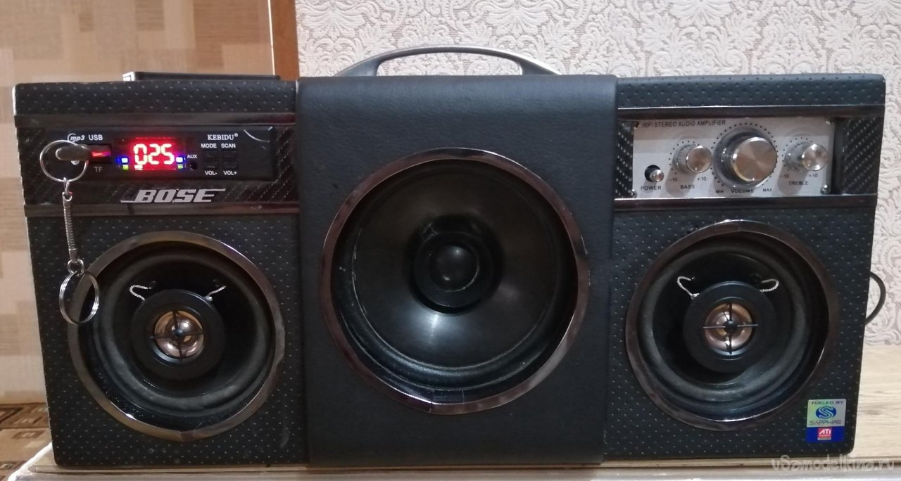 Acoustic system with your own hands