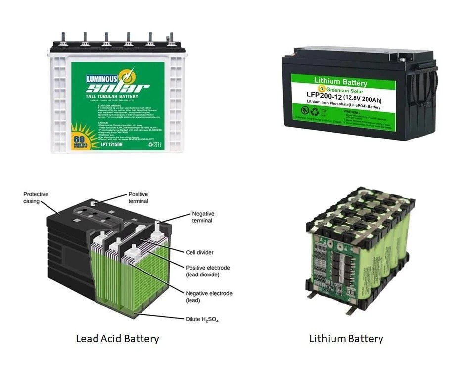 Assembling the battery (LiFePO4) for the solar panel and not only
