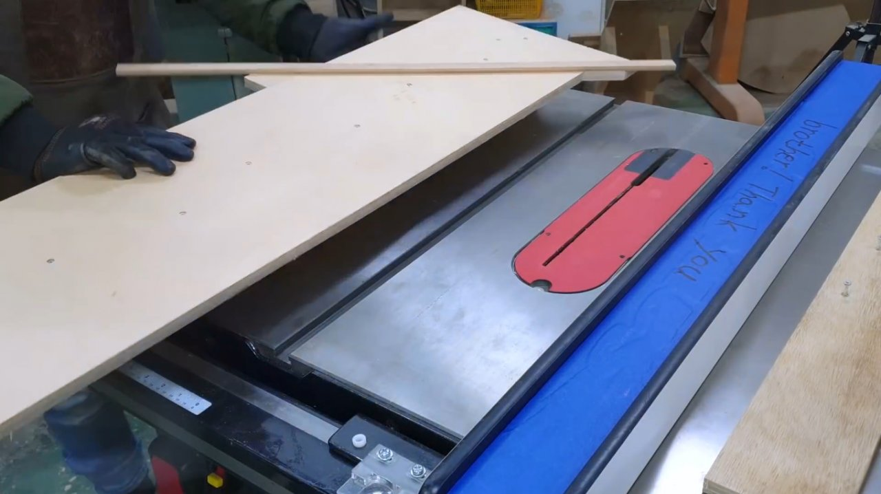 How to make a 45-degree miter carriage for a circular saw