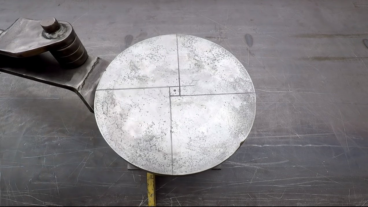 Cold forging device