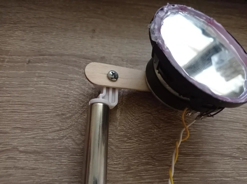 How to make a photophone with your own hands (sound transmission through a beam of light)