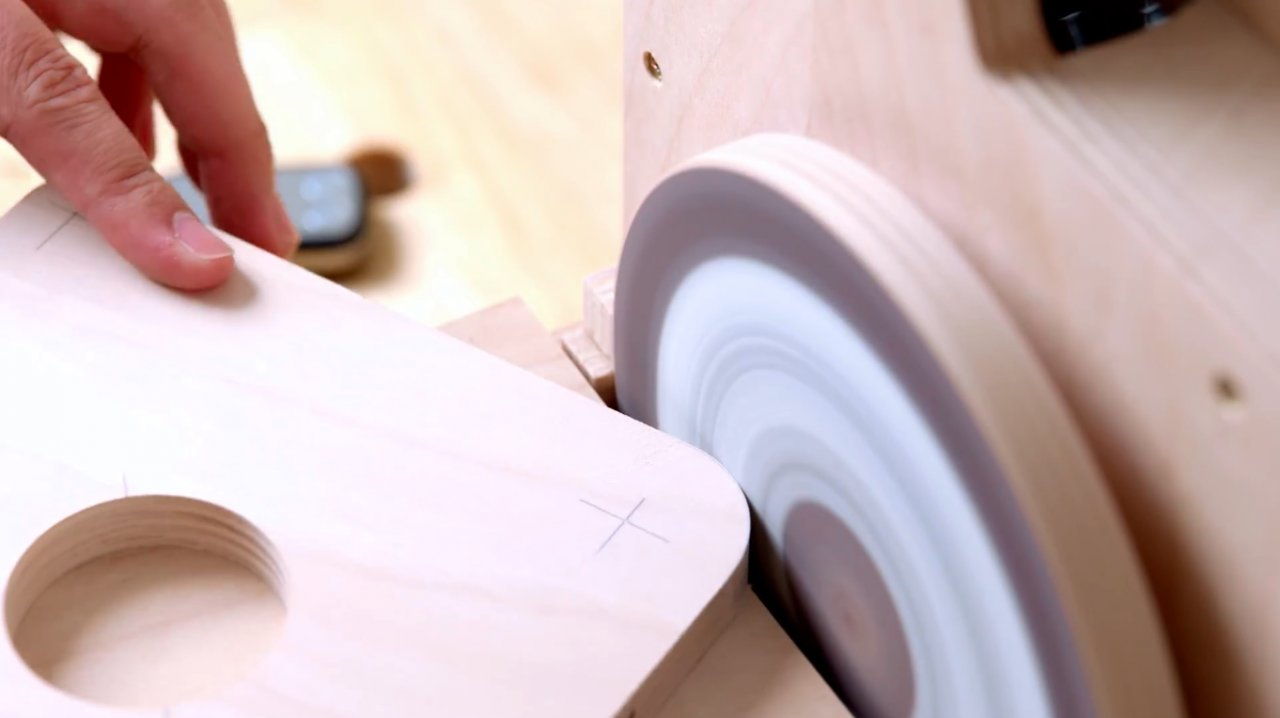 How to make a template for rounding corners with a router (improved version)