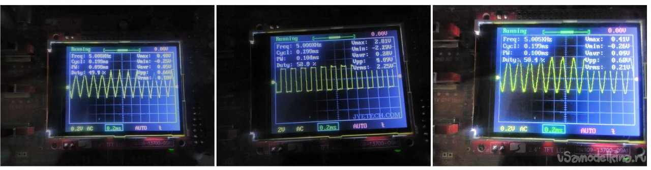Portable Generator on the AD9833 frequency synthesizer