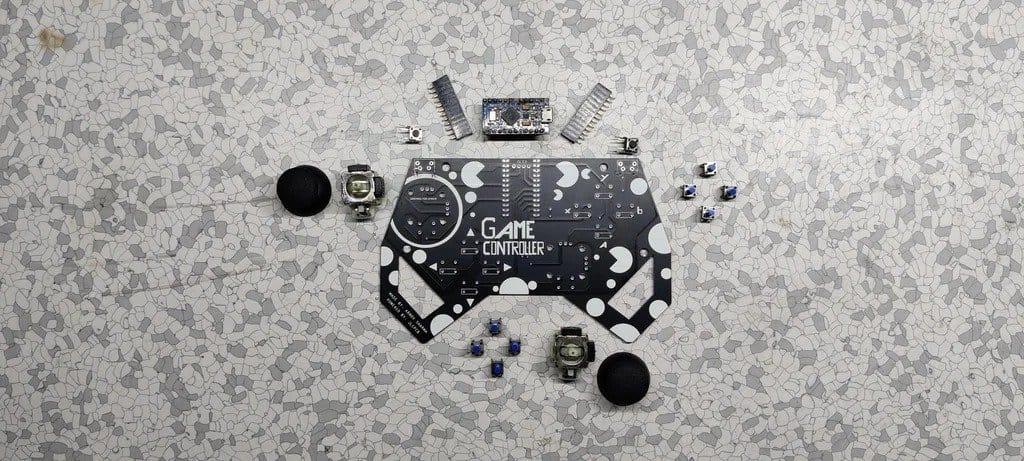 Self-made game joystick