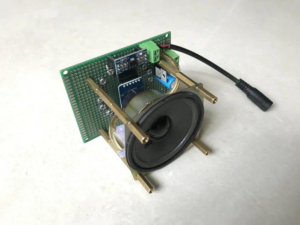 Clock with voice alert