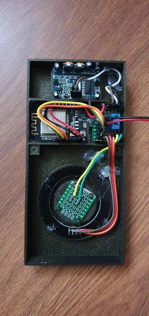 Doorbell with various notification methods