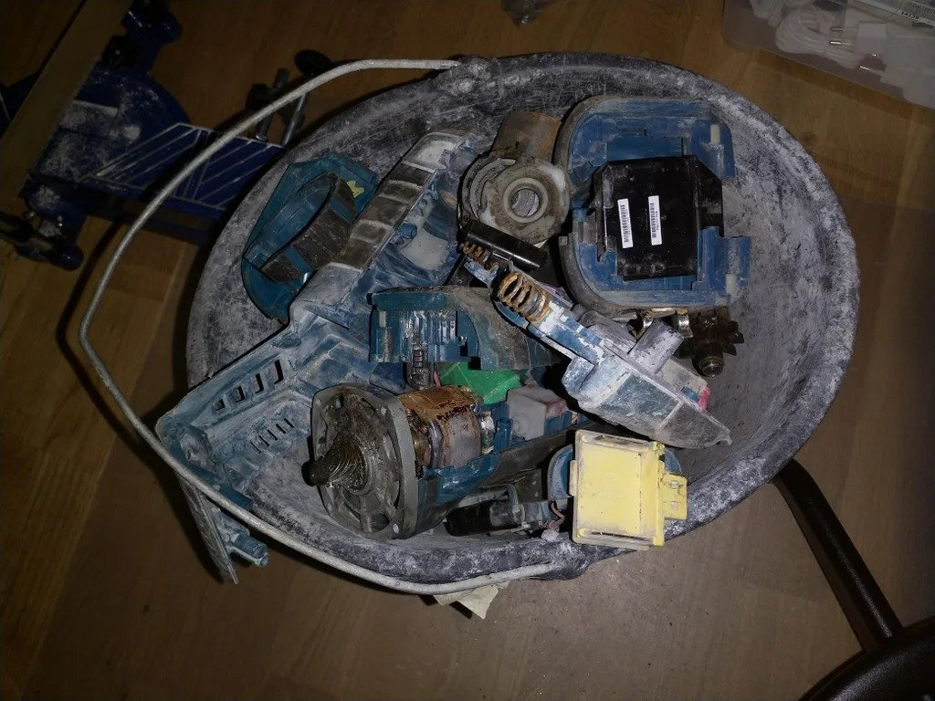 Адаптер питания для паяльника TS100 под аккумулятор Makita  + защита от разряда для аккумуляторов Makita