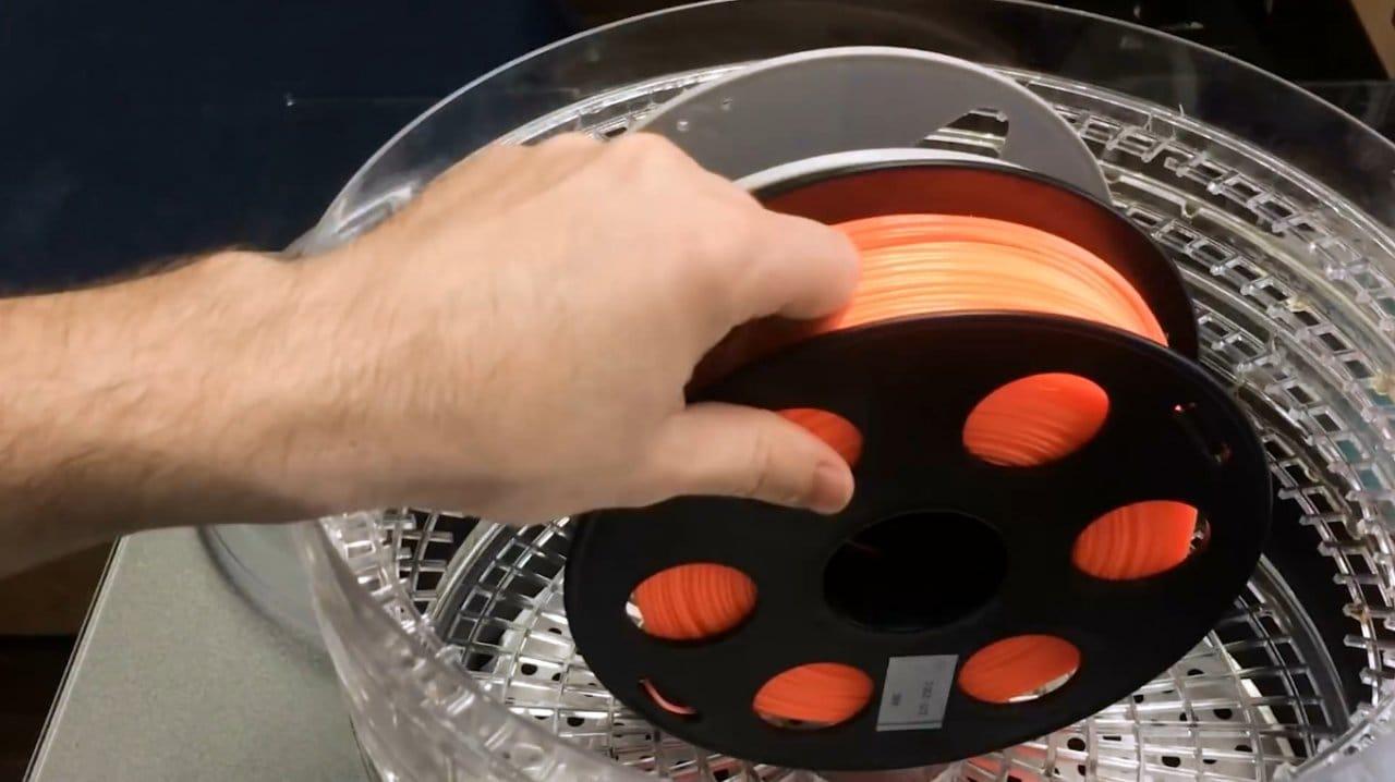Simple DIY filament dryer