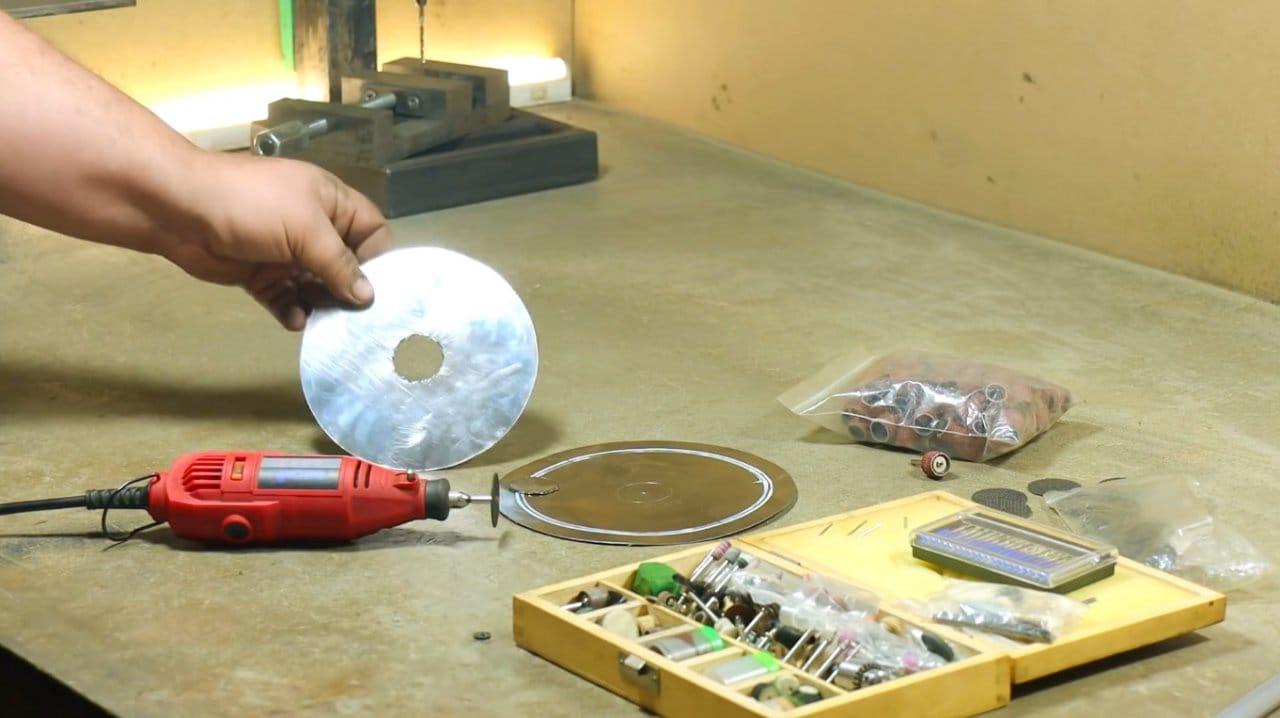 Making a portable rocket furnace