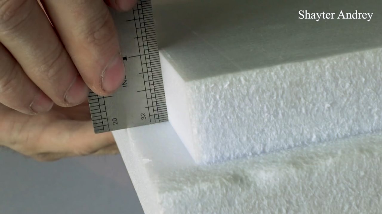DIY universal cutter for insulation (+ printed version and 3D model)