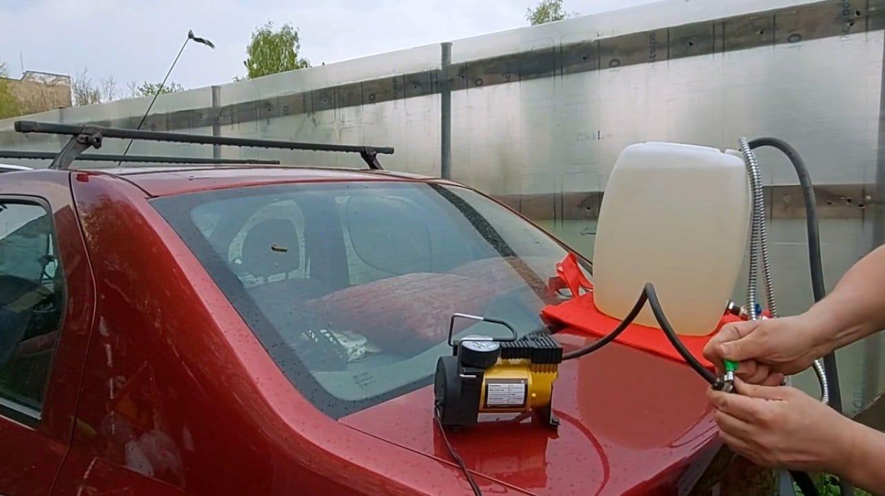 Делаем простой дорожный душ (автомобильный)
