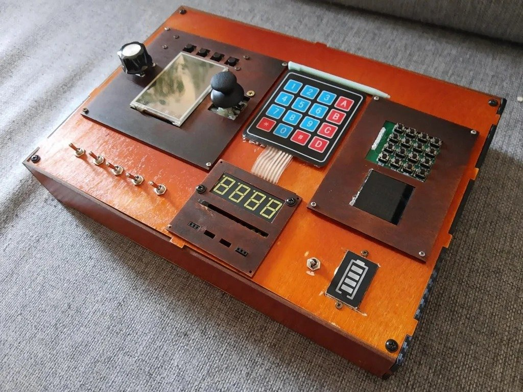 Electronic panel - a toy for children and an experience for