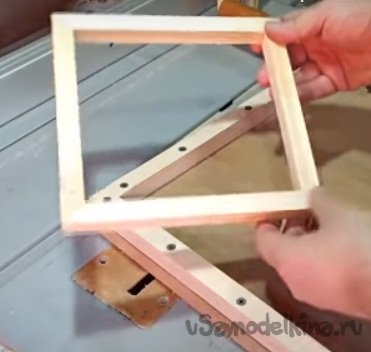 Budget frame for a mirror, photo or painting