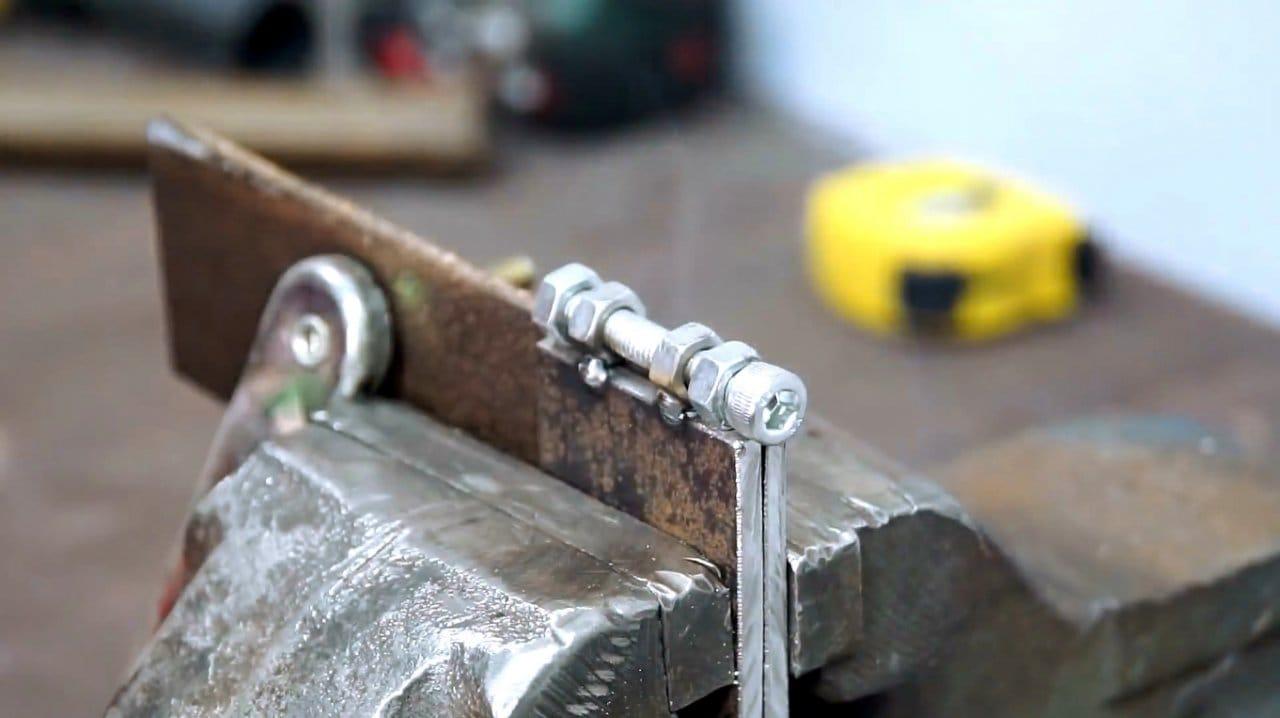 Making a simple belt sander (grinder)
