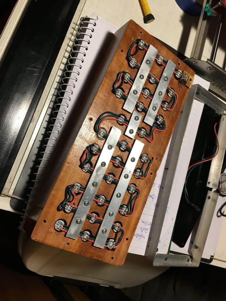Бинарные часы на ESP 8266
