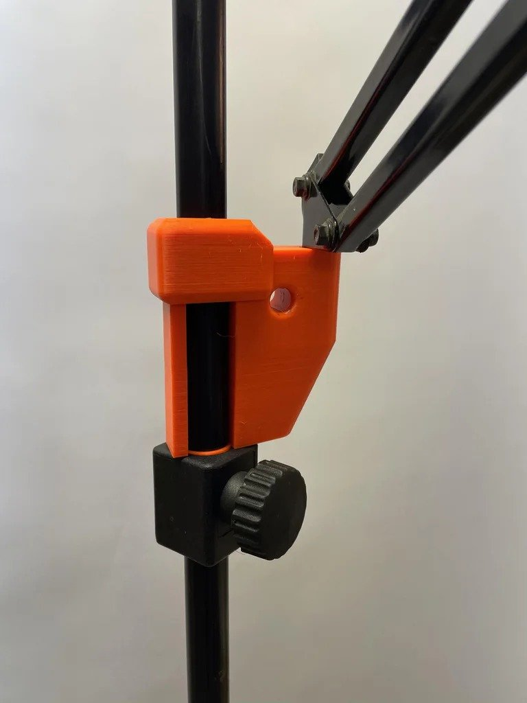 Stand-holder for a smartphone, to help the DIYer