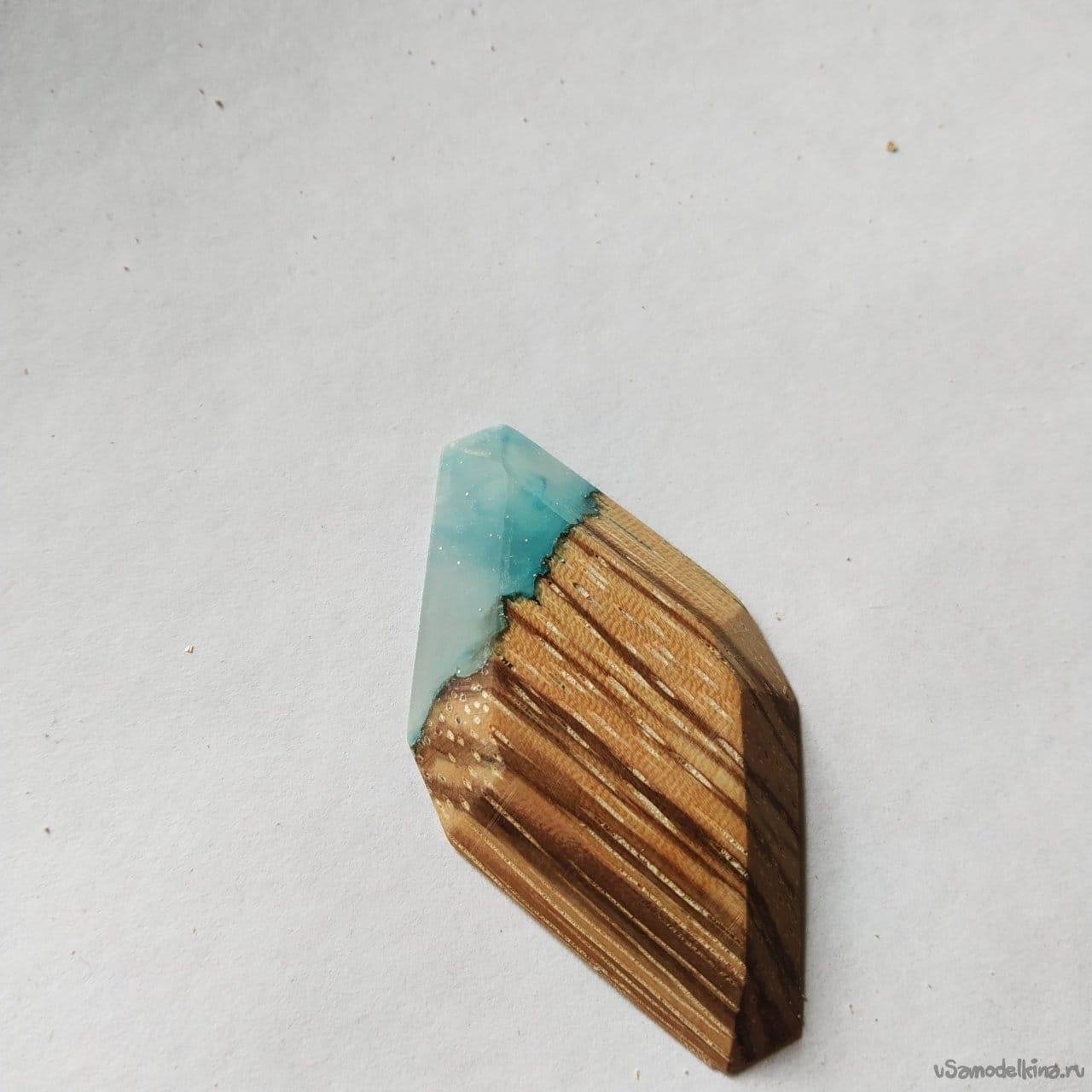 Zebrano pendant