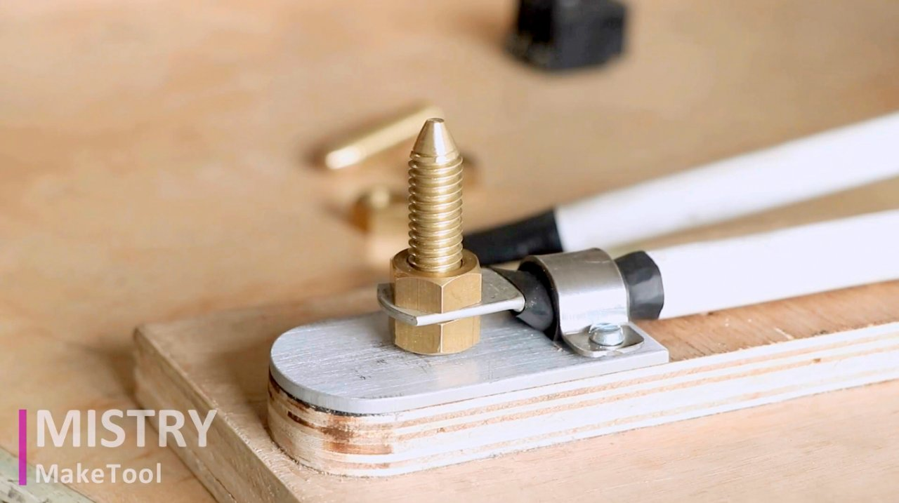 Making a spot welding machine