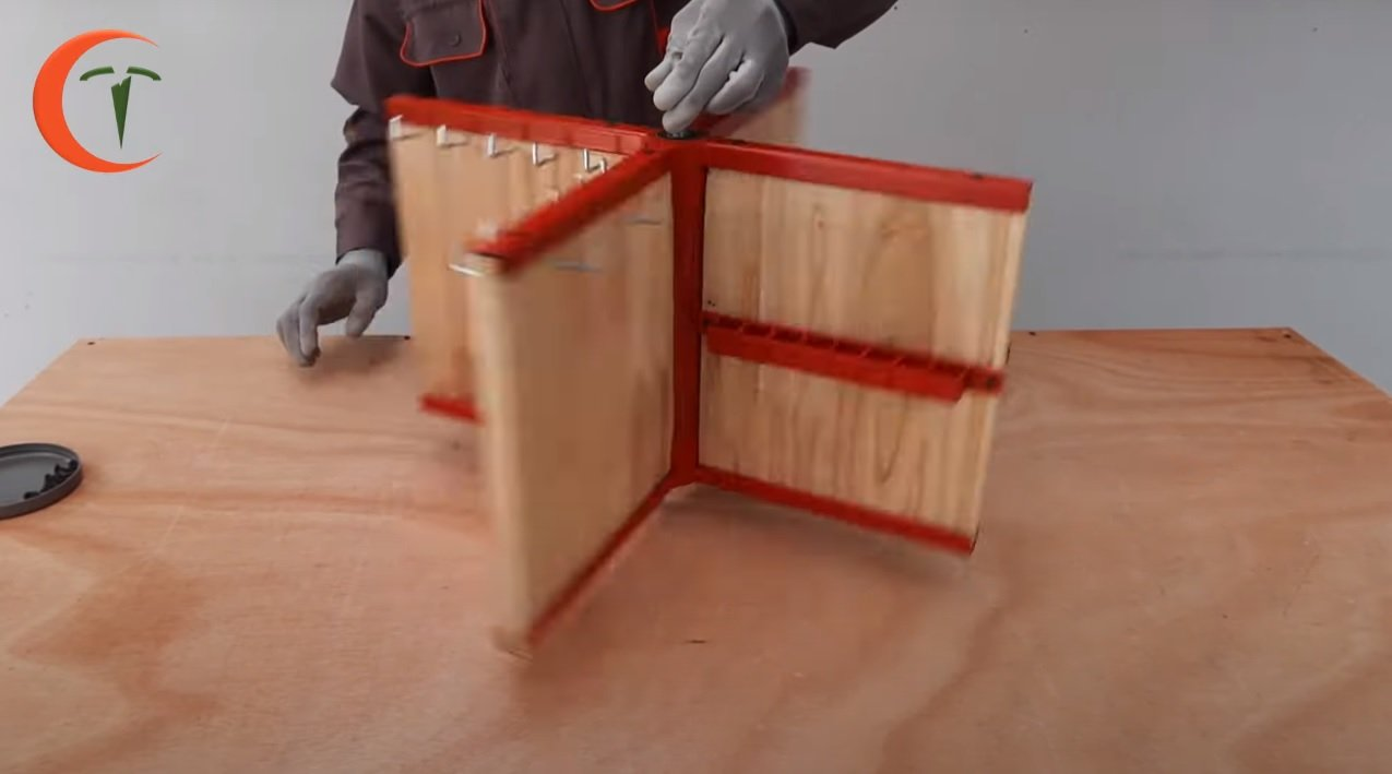 Tool organizer from the barrel