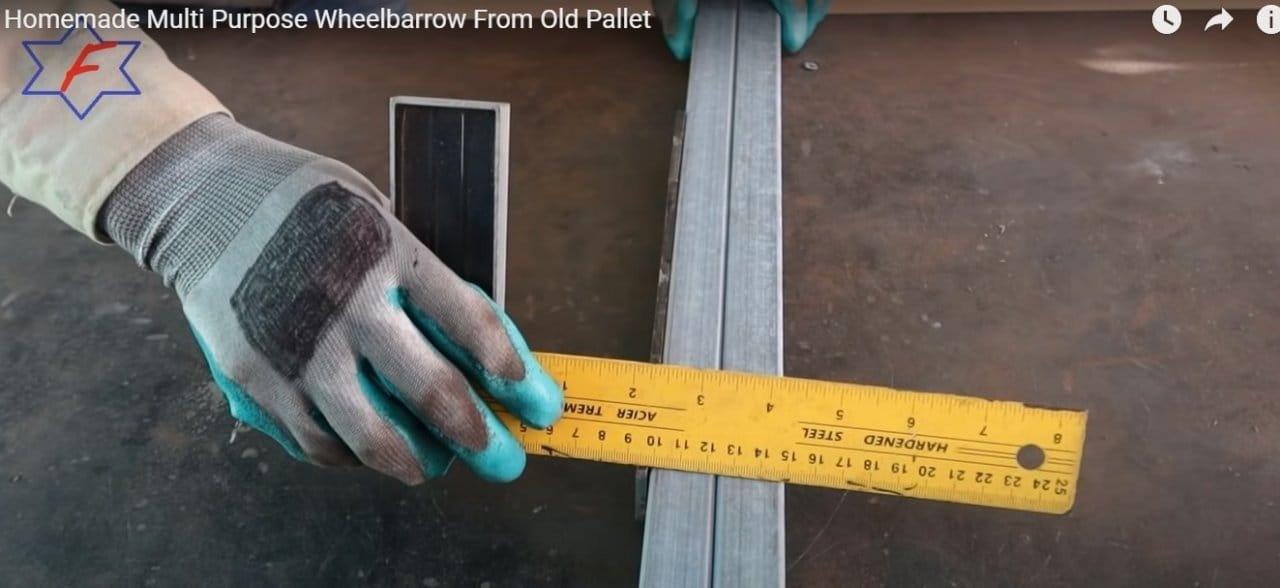 Садовая тележка со съёмными бортами