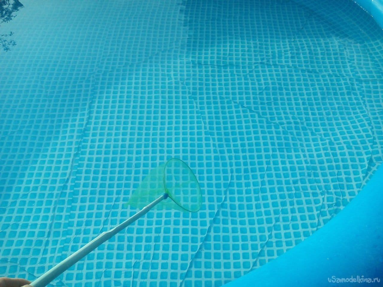 Garden pool. Operating tips